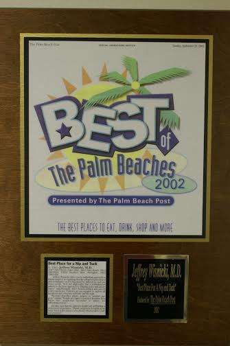 best of palm beaches award